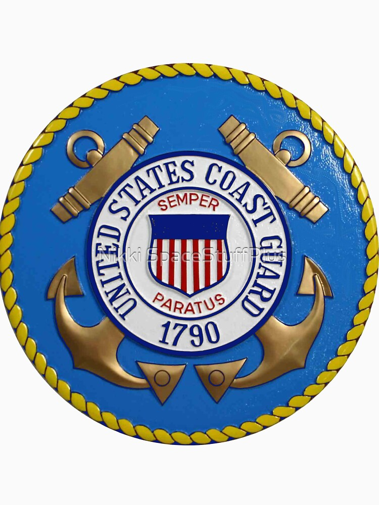 United States Coast Guard Seal by Spacestuffplus
