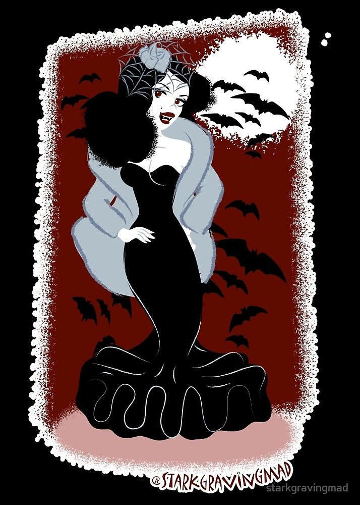 Ivana Bloode the Va Va Vampire by starkgravingmad