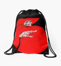 The Red Death Drawstring Bag