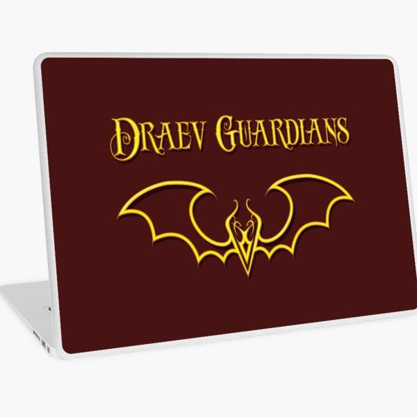 Draev Guardians fang wing symbol Laptop Skin