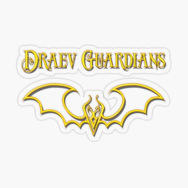 Draev Guardians fang wing symbol Transparent Sticker