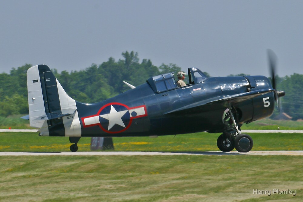 F4F Wildcat taxis by Henry Plumley