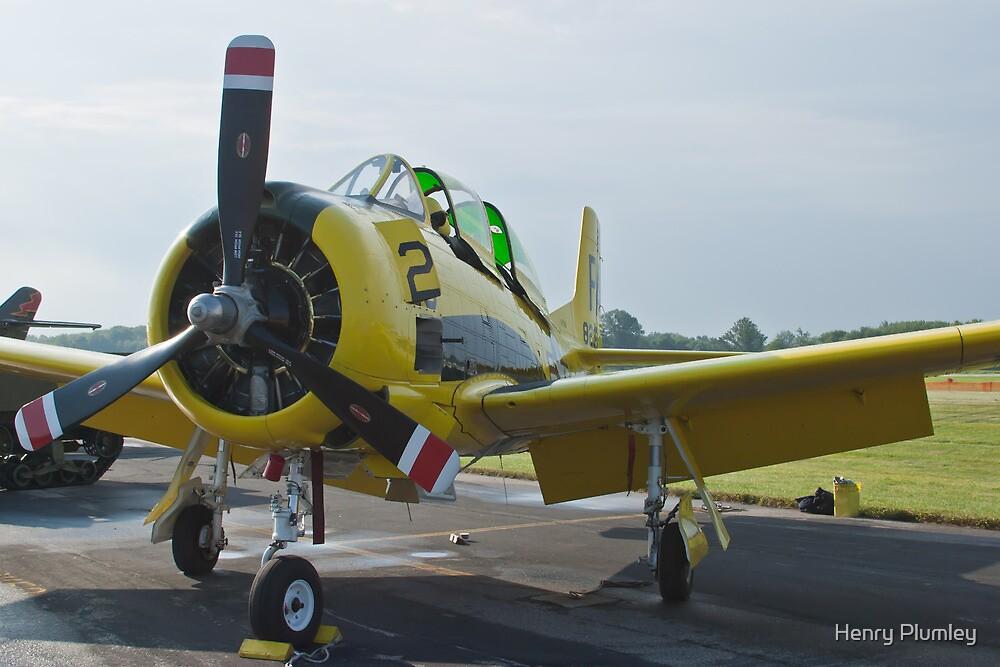 N726A T-28B Trojan Nose Shot by Henry Plumley
