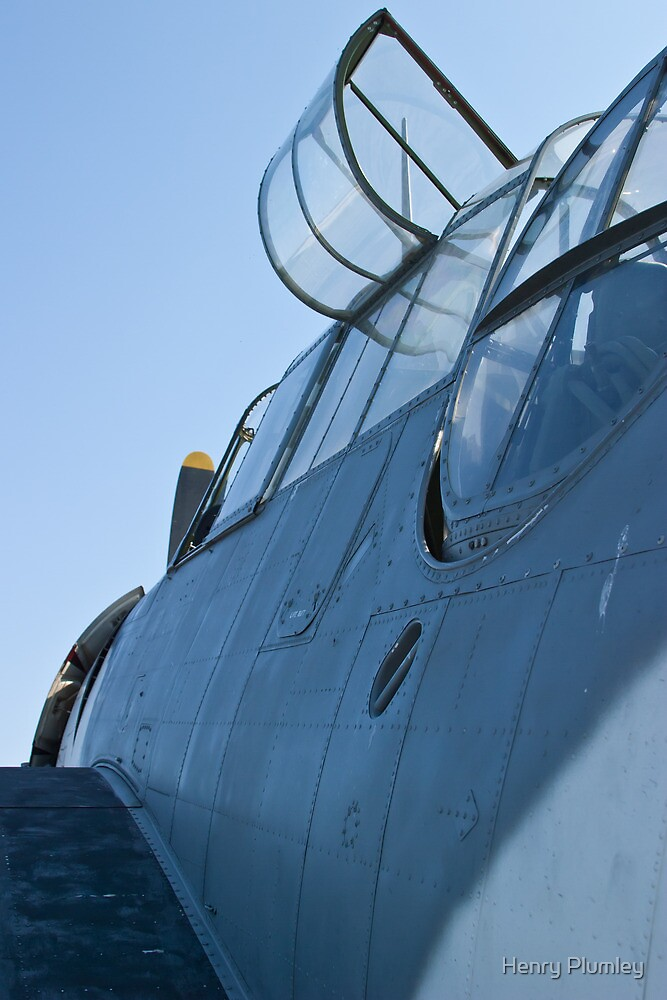 Open canopy on NL9584Z TBM-3 Avenger by Henry Plumley