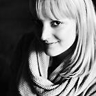 Black & White Portrait by Trish Woodford