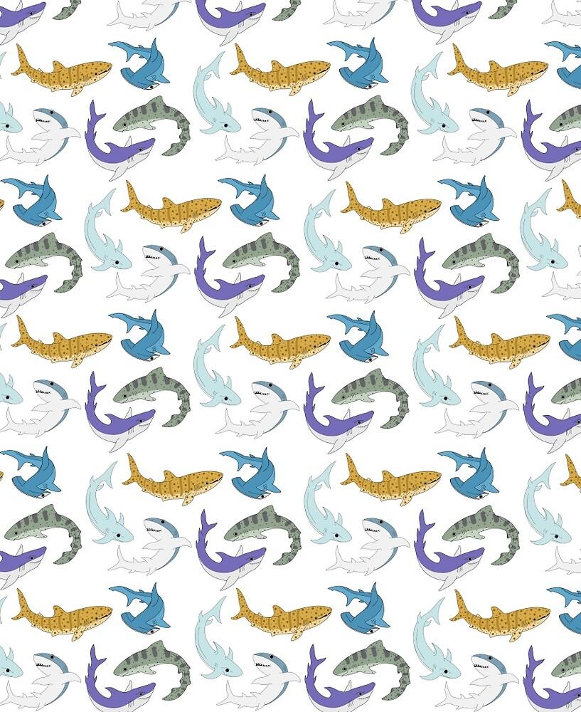 Shark Bro Party by LisaBuchfink
