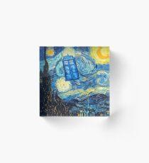 Starry Night Acrylic Block