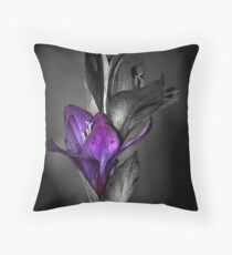 Color me Purple Throw Pillow