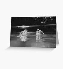 Drowning Greeting Card