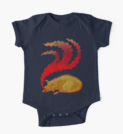 Snoring Dragon Kids Clothes