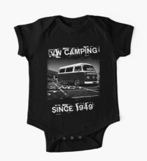 VW Camping T-Shirt One Piece - Short Sleeve