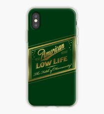 Amerikanische Low Life Goldfolie iPhone-Hülle & Cover