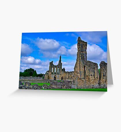 Byland Abbey Greeting Card