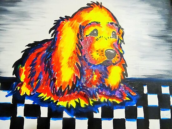 Pop Art Puppy by CXPRESSIONS