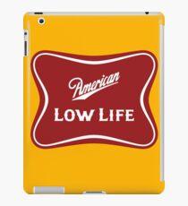 American Low Life Beer Logo Parody iPad Case/Skin