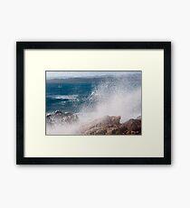 Tonnara's wave  Framed Print