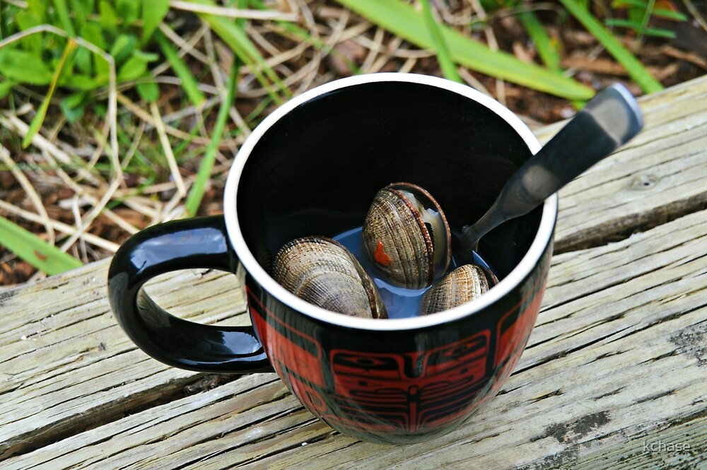 Cup of Clams by kchase