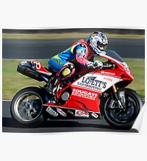 Sophie Lovett #98 | FX Superbikes | Eastern Creek Poster