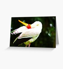 Bend it babe! Greeting Card