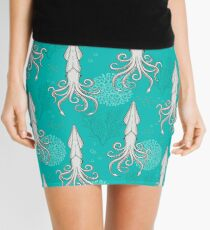 Deep under the Sea Cephalopods Octopus  Mini Skirt