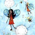 Flights of Fancy - 'Riding the Dandelions' by Cherie Roe Dirksen