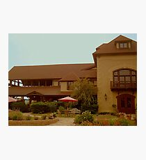 Welcome to Chateau Morrisette!  Photographic Print