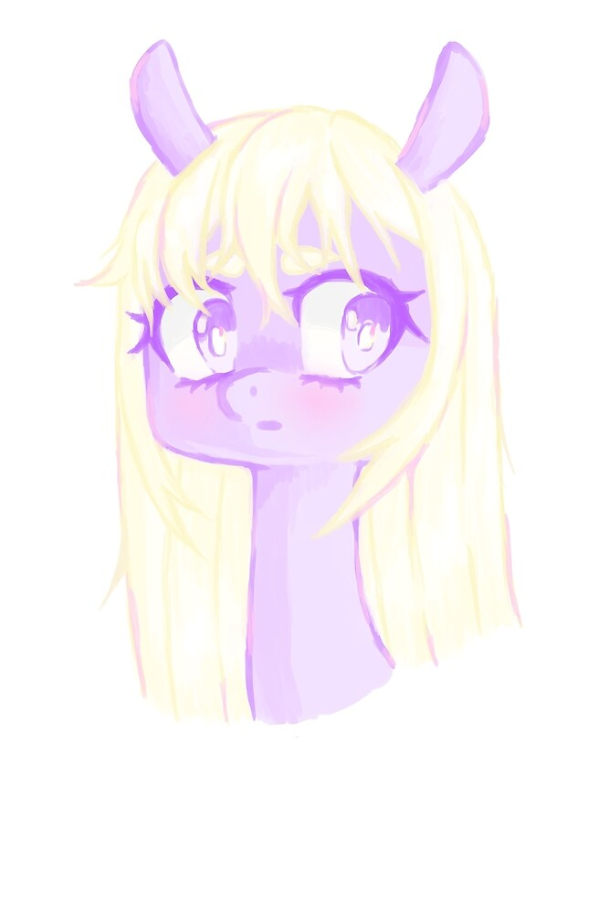 purple pony by Ginga-chama