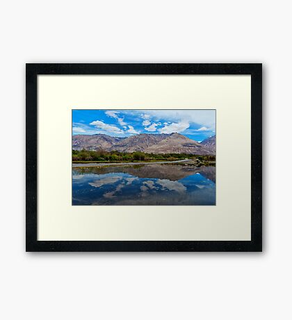 The Beauty of Nature in Laddakh-3/2011 Framed Print