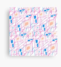 Square lines  Canvas Print
