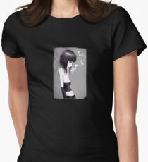 Dee Generate Womens Fitted T-Shirt