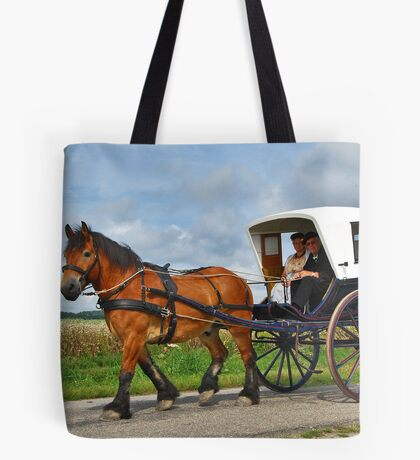 Together in a carriage Tote Bag