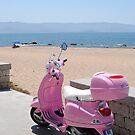 Pink Vespa by pablotguerrero
