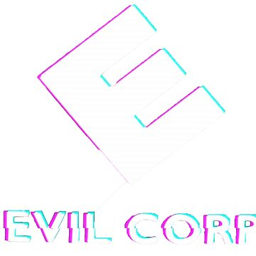 Transparent Evil Corp logo for all of your hoodie needs by bentomasiskey