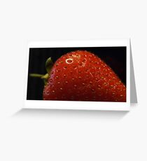 Strawberries...? Greeting Card