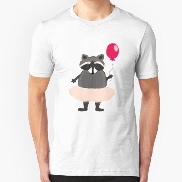 Cute raccoon Slim Fit T-Shirt