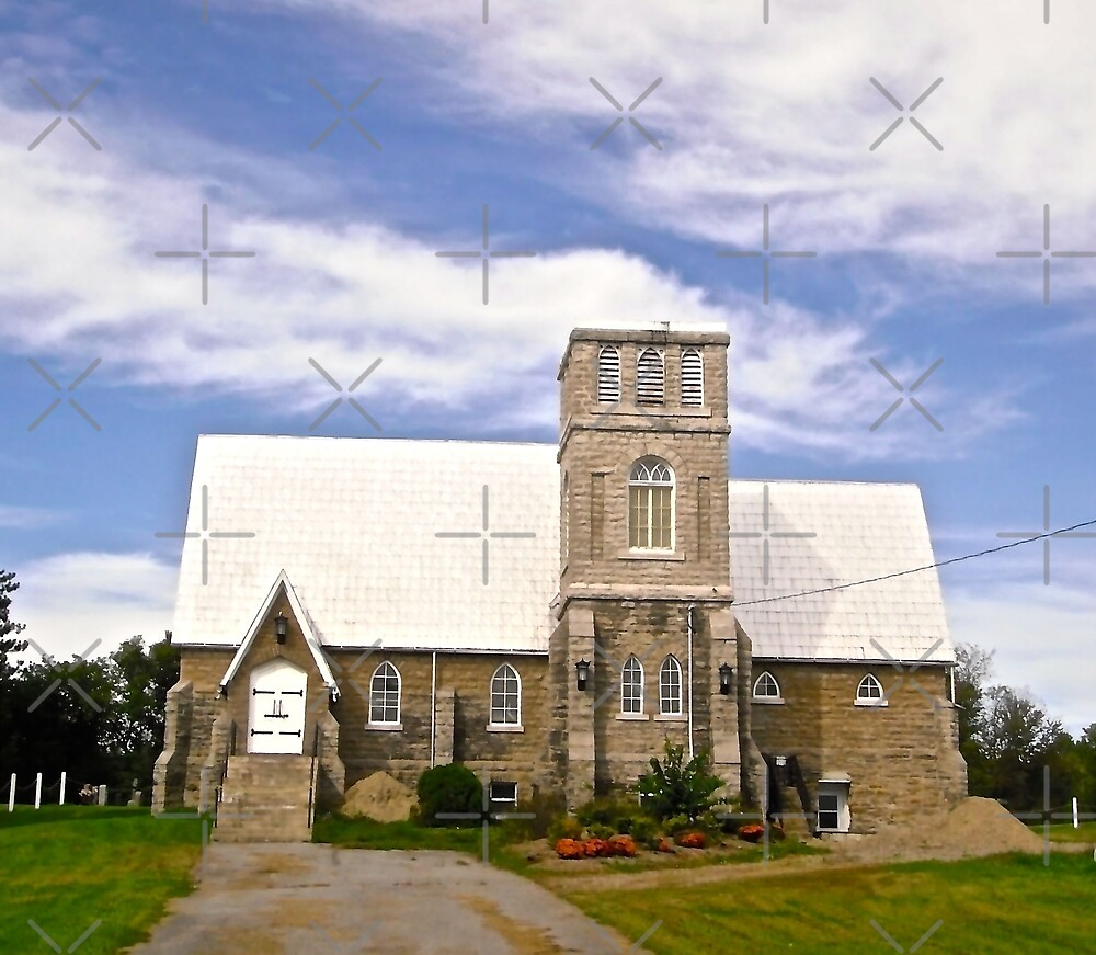 """Churches For Sale: """"Another Church For Sale, Quyon, Quebec"""" By Shulie1"""