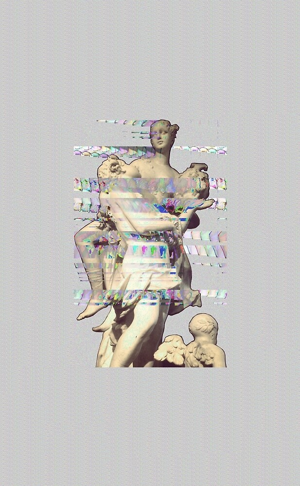 Glitched Statue by nathe