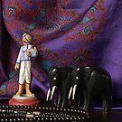 India - The Laundryman by Gilberte