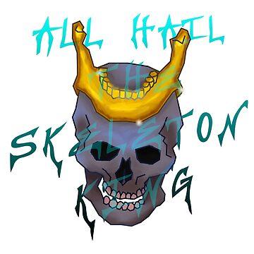 Skeleton King- by c0ke964 by rattlemybones