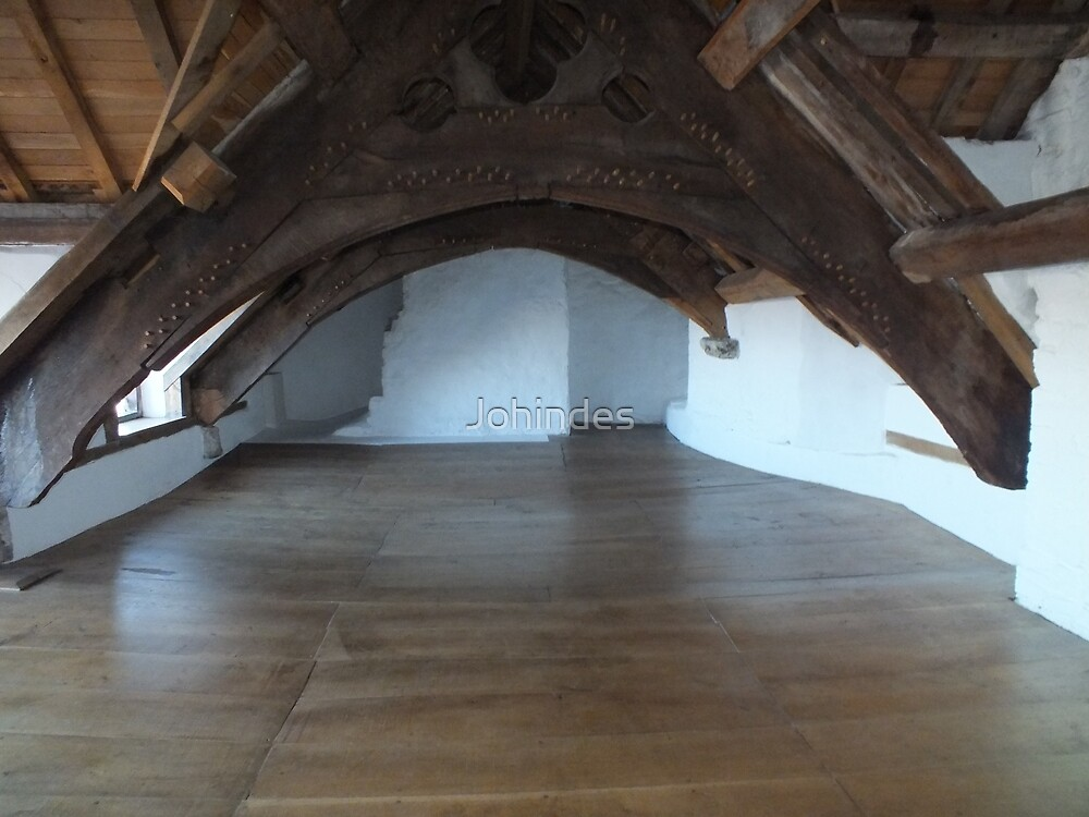 Plas Mawr Great Attic by Johindes