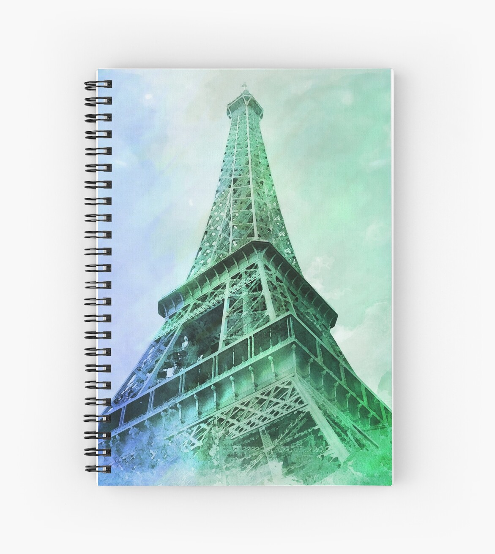 Eiffel Tower Watercolor by irinatsy