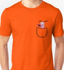 Pocket Courage Dog. T-Shirt