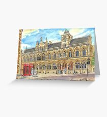 Guild Hall, Northampton, UK Greeting Card