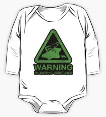 Sticker! The Danger of the Ooze One Piece - Long Sleeve