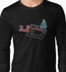 Tron Slot Light Cycles Long Sleeve T-Shirt