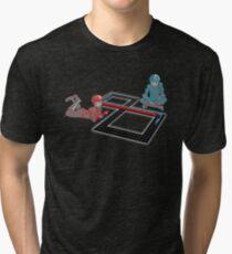 Tron Slot Light Cycles Tri-blend T-Shirt