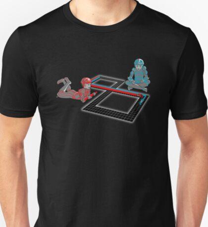 Tron Slot Light Cycles T-Shirt