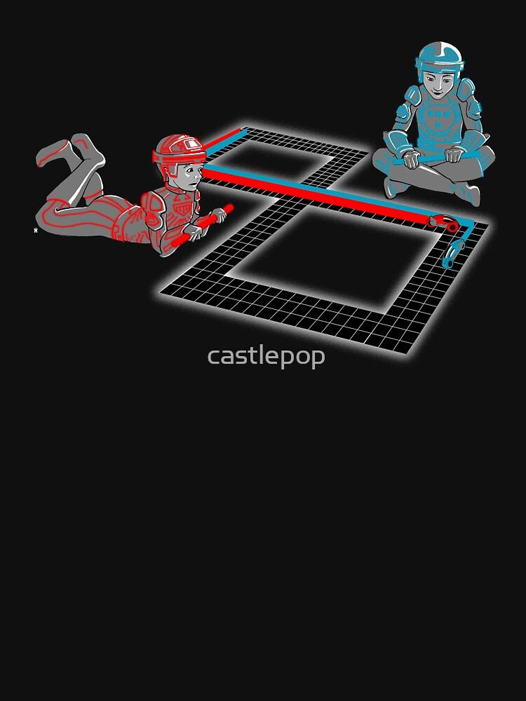 Tron Slot Light Cycles by castlepop