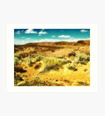 Wild West 2 Art Print