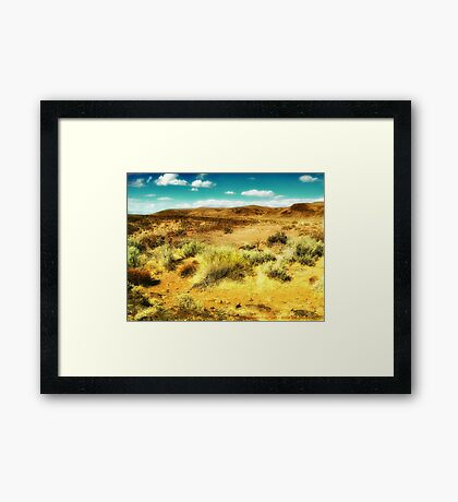 Wild West 2 Framed Print